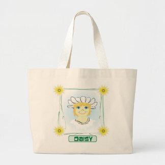 Green Glen - Daisy Organic Tote Jumbo Tote Bag