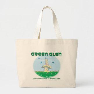 Green Glen Faire Organic Tote Jumbo Tote Bag