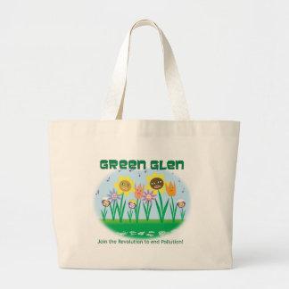 Green Glen Flora Organic Tote Jumbo Tote Bag