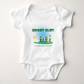 Green Glen Gang I Baby Bodysuit