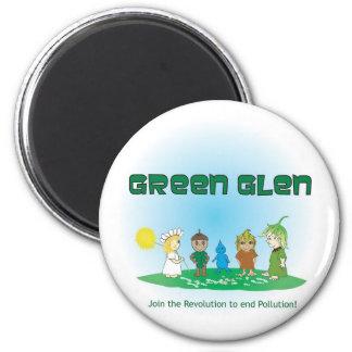 Green Glen Gang I Magnet