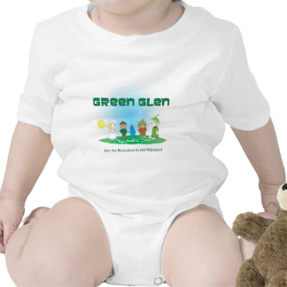 Green Glen Gang I Romper