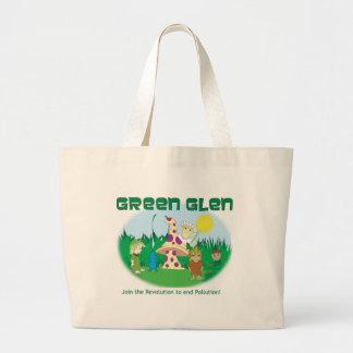 Green Glen Gang Organic Tote 2 Jumbo Tote Bag