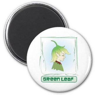 Green Glen - Green Leaf Magnet