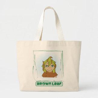 Green Glen Green Leaf Organic Tote Jumbo Tote Bag