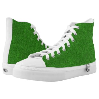 Green Glimmer and White Sneakers