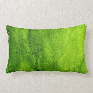Green Glimmer Pillows