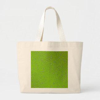 Green Glitter Backgrounds digital art graphic desi Large Tote Bag