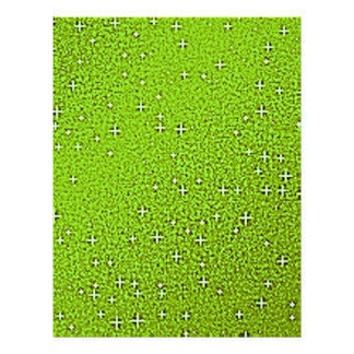 Green Glitter Backgrounds Flyer