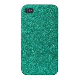 Green Glitter iPhone 4/4S Case