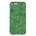 green glitter iPhone 6 case