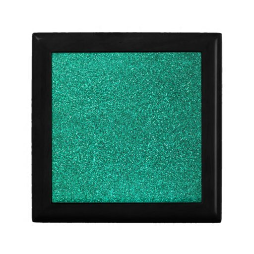 Green Glitter Jewelry Boxes
