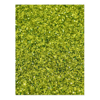 GREEN GLITTER PRODUCTS for HOLIDAYS or Any Day! Postcard