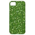 Green Glitters iPhone 5 Case