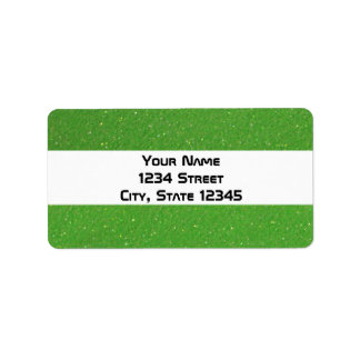 Green Glitz Labels