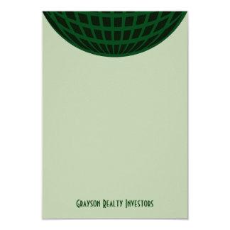 Green Global Business Card