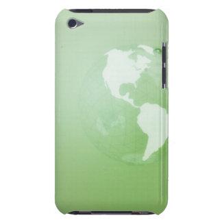 Green Globe iPod Case-Mate Case