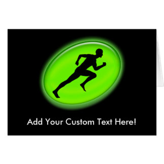 Green Glow Fitness and Personal Training Logo Card