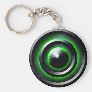 Green Glow Keychain