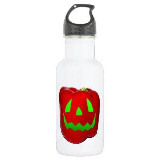Green Glow Red Bell Peppolantern Stainless Steel Water Bottle