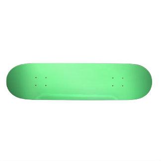 Green Glow Skateboard Deck