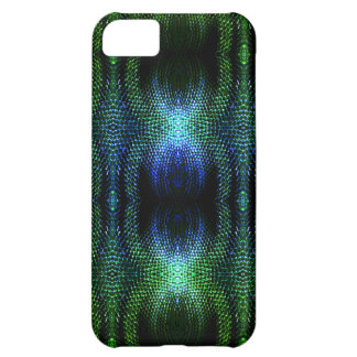 Green Glow Snake Skin Case For iPhone 5C