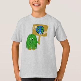 Green go green planet T-Shirt