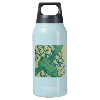 Green Goat Gallery Insulated Water Bottle