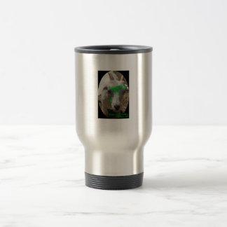 "Green Goat Gallery ""Pushy"" Travel Mug"