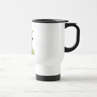 Green Goat Head Travel Mug