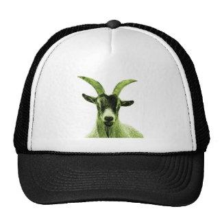 Green Goat Head Trucker Hat
