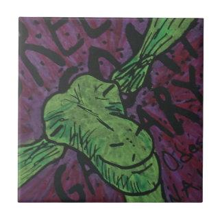 Green Goat Tile