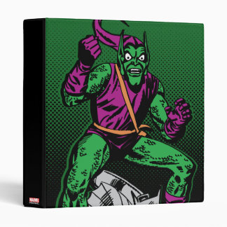 Green Goblin Retro Binder