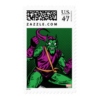 Green Goblin Retro Postage