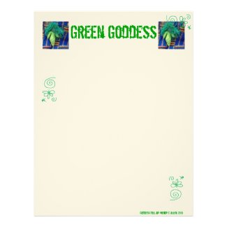 Green Goddess Book of Shadows Pages