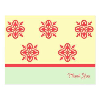 Green Goddess Thank You Card