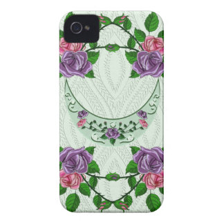 Green Goddess Upright Crescent iPhone 4 Cases