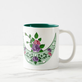 Green Goddess Upright Crescent Coffee Mugs