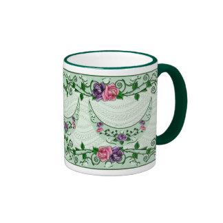 Green Goddess Upright Crescent Ringer Mug