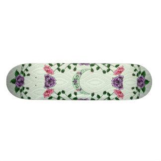 Green Goddess Upright Crescent Skateboard Deck