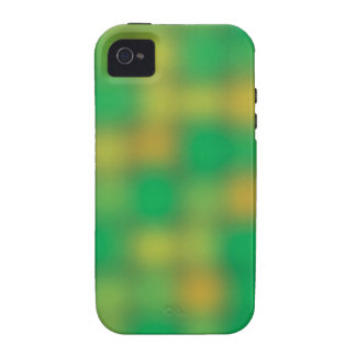 Green & gold color blur iPhone 4 covers