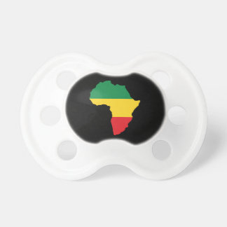 Green, Gold & Red Africa Flag BooginHead Pacifier