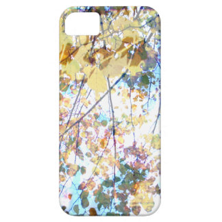 green gold sunlit leaves iPhone 5 cases