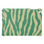 Green/Gold Tiger Stripe iPad Case