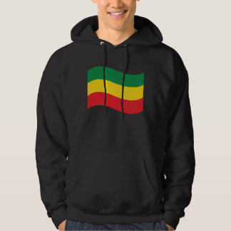 Green, Gold (Yellow) and Red Colors Flag Hoodie