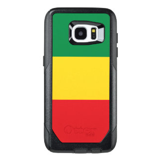 Green, Gold (Yellow) and Red Colors Flag OtterBox Samsung Galaxy S7 Edge Case
