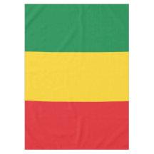 Rasta Tablecloths Zazzle