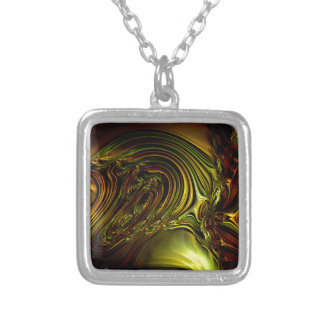 Green Golden Glassworks Multi products selected Square Pendant Necklace