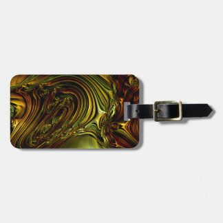 Green Golden Glassworks Multi products selected Tag For Luggage