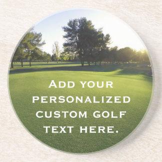 Green Golf Course at Dawn Coaster